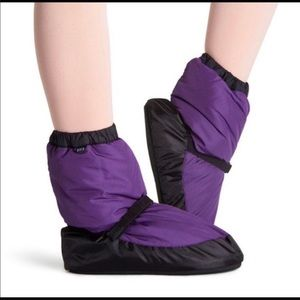 Forte Purple Dance Warmup Boots Various Sizes